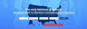 New homepage for Workers-Compensation-Doctors.com