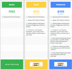 New Plans & Pricing Page