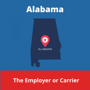 Who chooses the Workers compensation doctor in Alabama