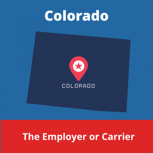Who chooses the Workers' Compensation Doctor in Colorado