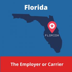 Who chooses the Workers' Compensation Doctor in Florida