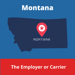 Who chooses the Workers' Compensation Doctor in Montana