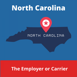Who chooses the Workers' Compensation Doctor in North Carolina