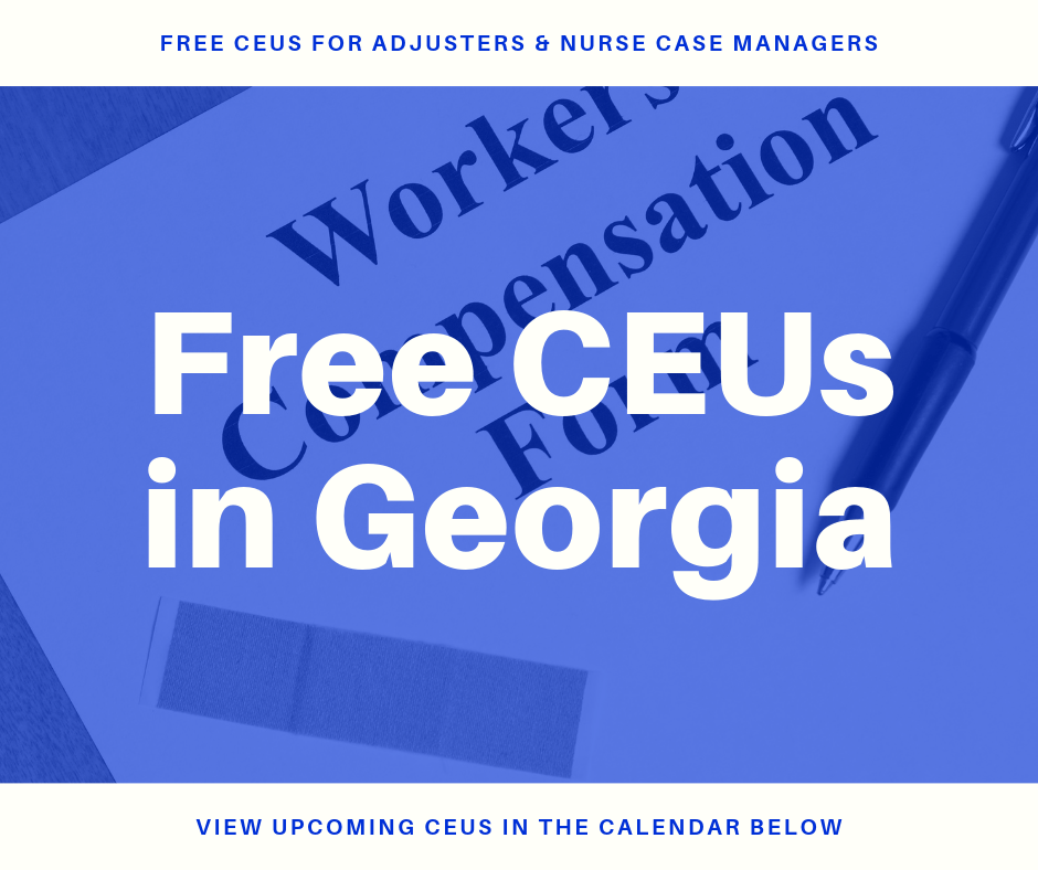 Free CEUs in Georgia