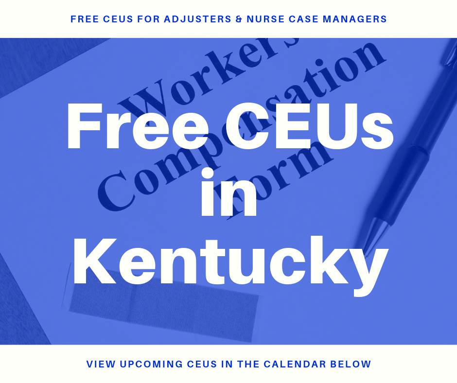 Free CEUs in Kentucky