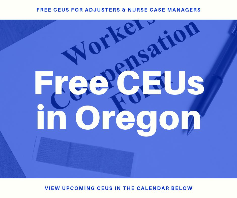 Free CEUs in Oregon