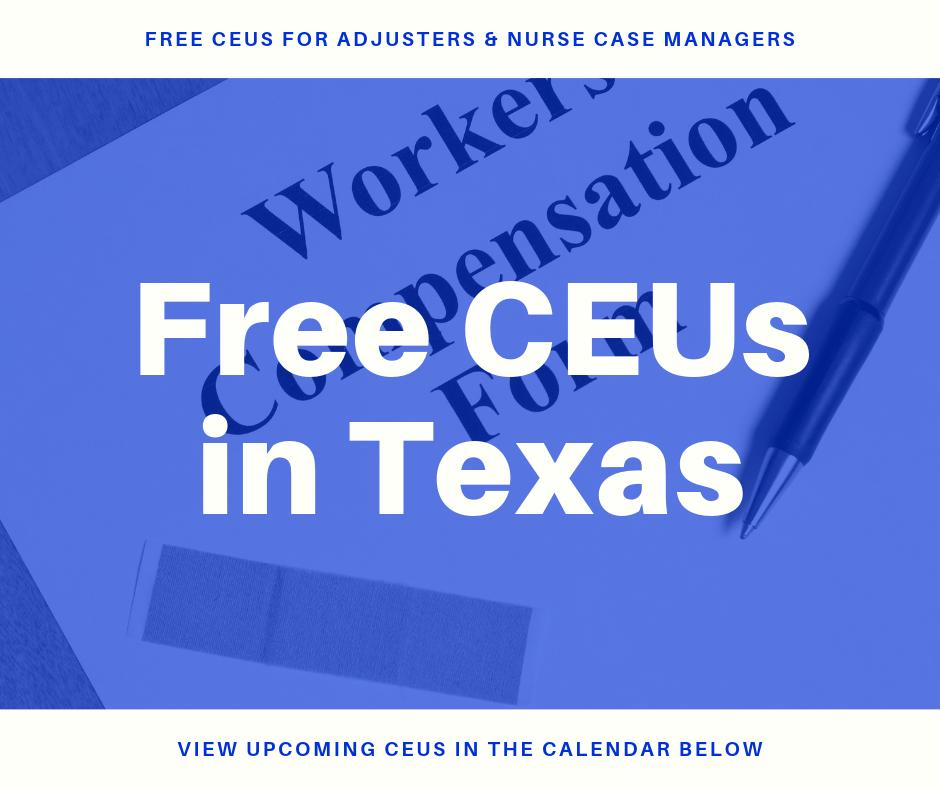 Free CEUs in Texas