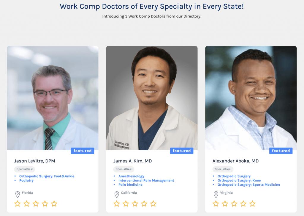 Work Comp Doctors