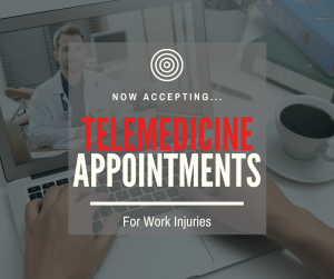 telemedicine for work injuries