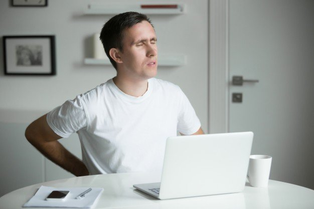 patient working from home back pain - work comp cases decreasing during the pandemic?